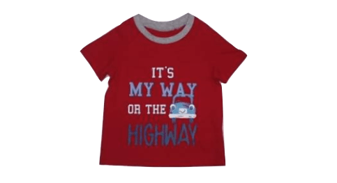 George It's Way or The Highway Baby Boys T-Shirt