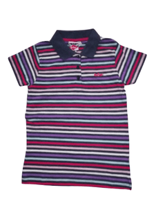 Lee Cooper Multi Stripe Polo - Stockpoint Apparel Outlet