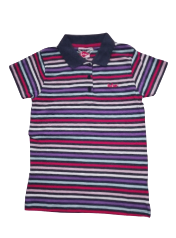 Lee Cooper Multi Stripe Polo