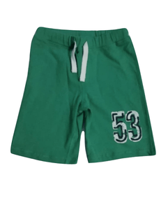 Charanga Boys 53 Inscribed Green Shorts