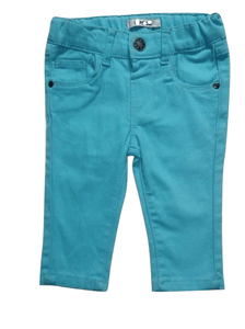 Pep & Co Turquoise Crop Jeans - Stockpoint Apparel Outlet