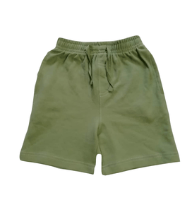 Adams Baby Boys Olive Green Jersey Shorts