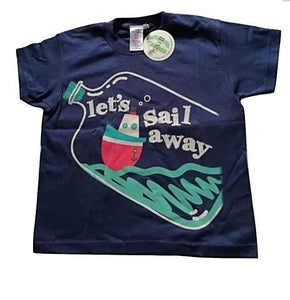BHS Mini B Let's Sail Away Baby Boys T-Shirt