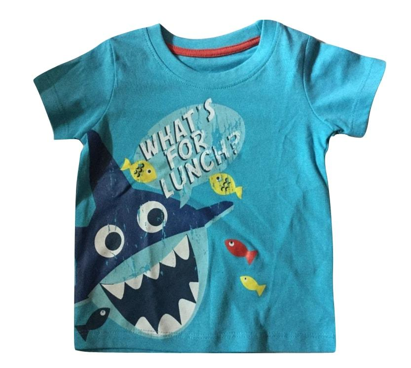 Matalan Light Blue Baby Boys T-Shirt