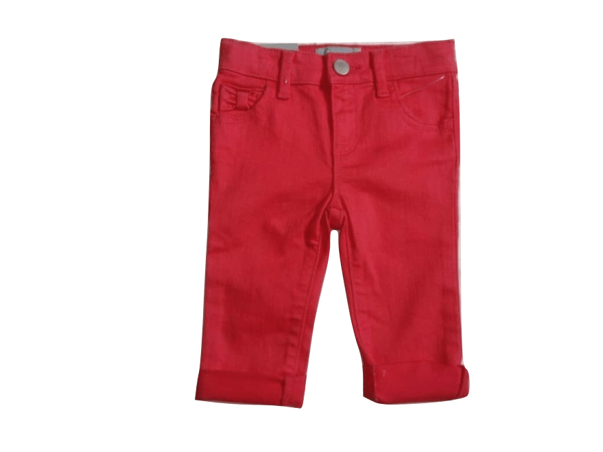 GAP Baby Girls Pink Fold-up Jeans