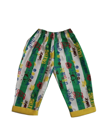 Chambo Summer/Beach Yellow & Green Boys Shorts