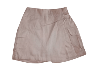 Chambo Girls Khaki Wrap Shorts