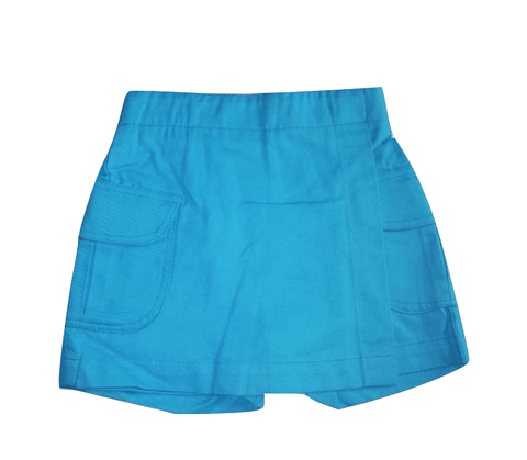 Chambo Girls Blue Wrap Shorts