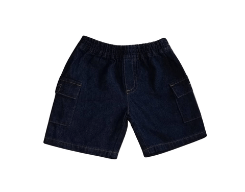 Adams Baby Boys Blue Jeans Shorts