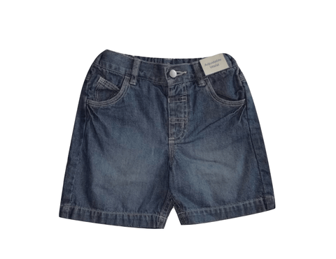 Adams Baby Boys Blue Denim Shorts