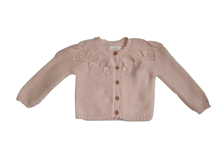 Next Baby Girl Pink Cardigan - Stockpoint Apparel Outlet