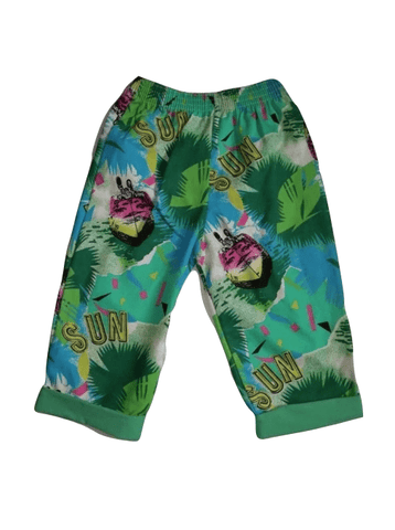 Chambo Green Multi Colour Summer/Beach Boys Shorts