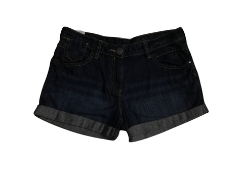 Next Dark Blue Jeans Shorts