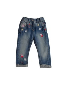Next Peppa Pig Blue Jeans - Stockpoint Apparel Outlet