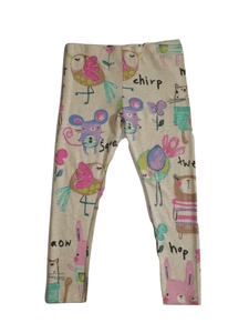 Next Yellow Multi Colour Animal Leggings - Stockpoint Apparel Outlet