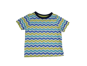 Pep & Co Multi Colour Striped T-Shirt - Stockpoint Apparel Outlet