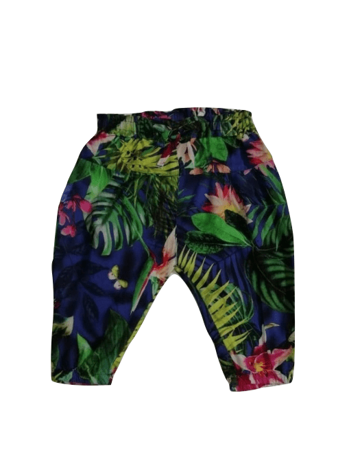 Next Multi Colour Floral Trousers - Stockpoint Apparel Outlet