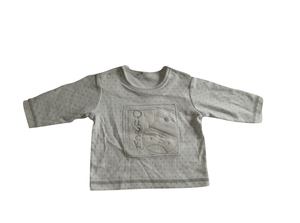 Baby Boys Quack White Longsleeve T-Shirt - Stockpoint Apparel Outlet
