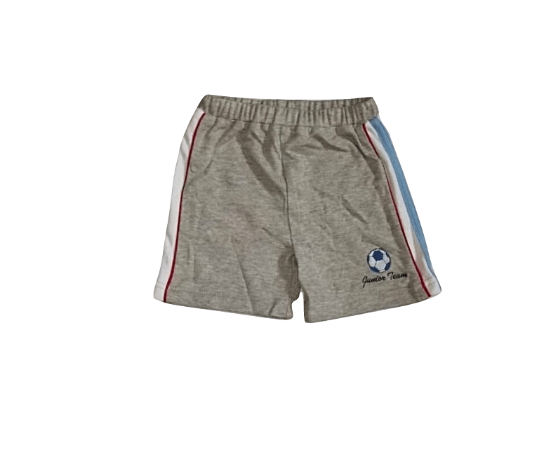 Adams Baby Boys Grey Side Stripe Jersey Shorts