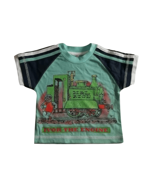 Ivor The Engine Green Baby Boys T-Shirt