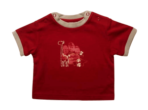 Safari Baby Boys Red T-Shirt - Stockpoint Apparel Outlet