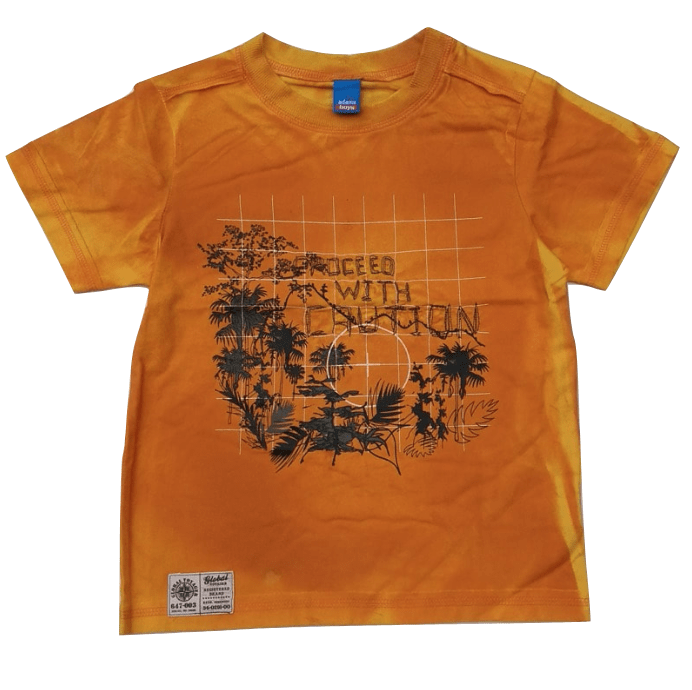 Adams Baby Boys Orange T-Shirt