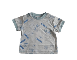 Baby Boys London Paris T-Shirt