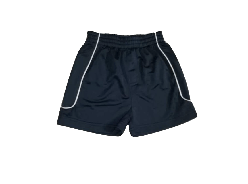 Adams Baby Boys Navy White Stripe Jersey Shorts