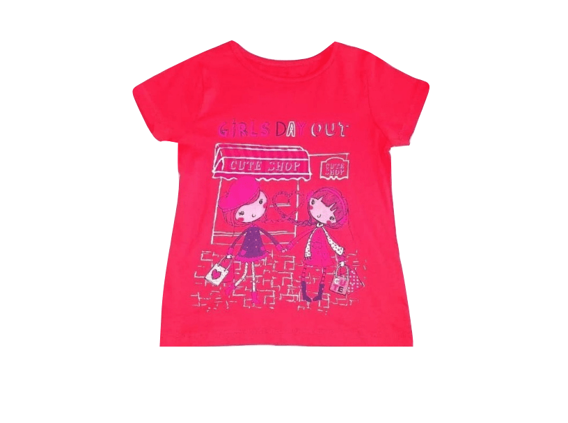 Pep & Co Girls Day Out Red T-Shirt - Stockpoint Apparel Outlet