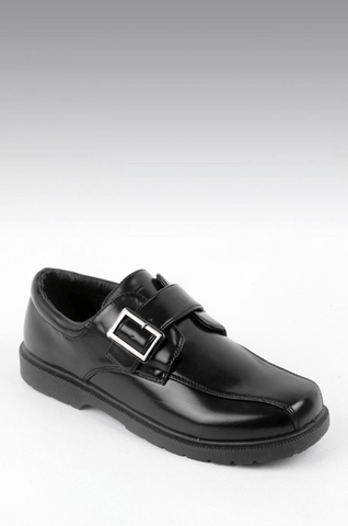 Boardwalk Vaudeville Black Boys School Shoes