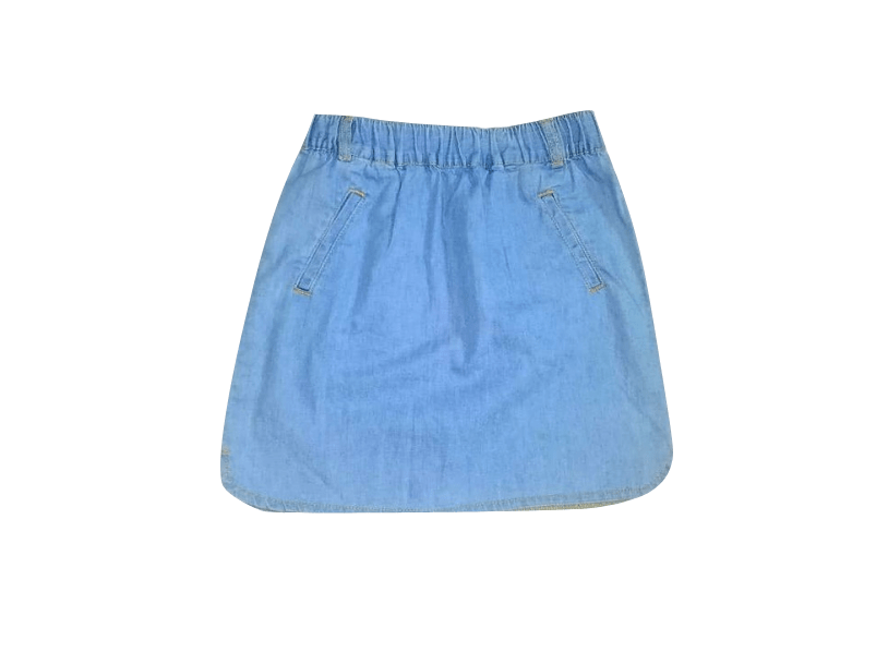 Pep & Co Girls Denim Skirt - Stockpoint Apparel Outlet