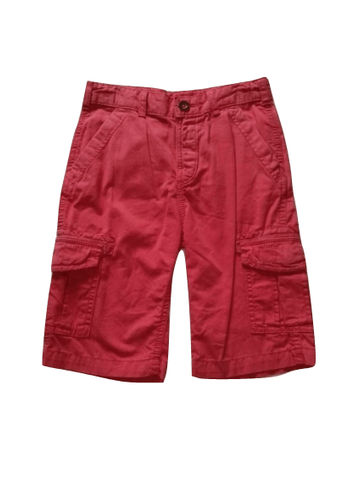 M&S Boys Red Combat Cargo Shorts