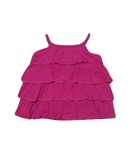 Baby Girls Purple Strap Dress