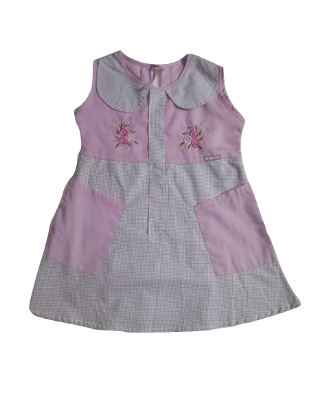 Oshkosh Pink Peter Pan Girls Dress - Stockpoint Apparel Outlet