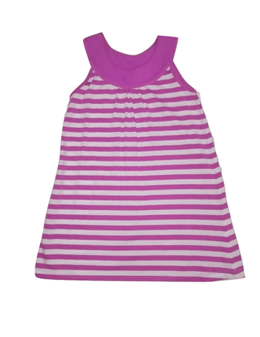 Tu Baby Girls Purple Stripes Dress