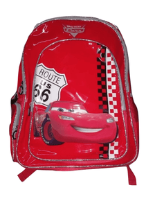 Disney Pixar Cars Route US 66 Red Large Backpack