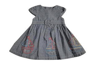 Tu Polka Dot Baby Girls Dress
