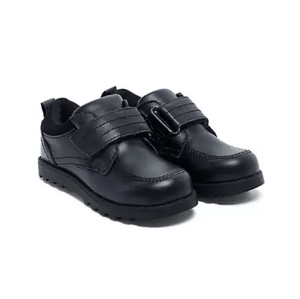 Mothercare Supercool Boys Black School Shoes