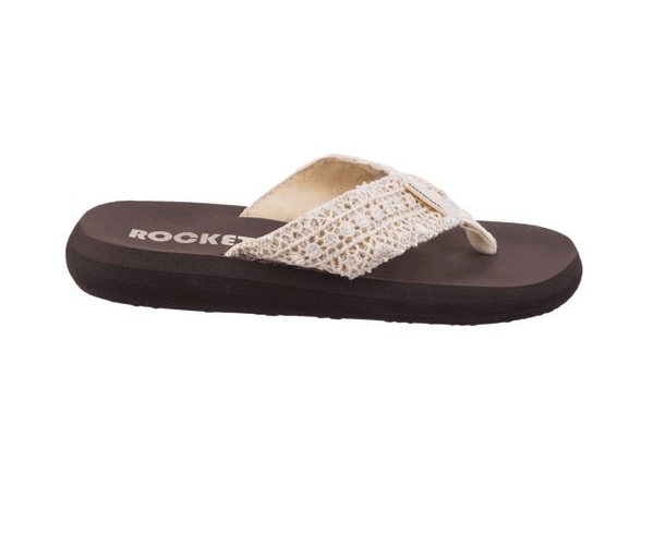 Rocket Dog Womens Multicolour 'Spotlight' Flip Flops/Slippers - Stockpoint Apparel Outlet