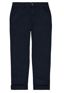 George Boys Navy Chinos Trousers