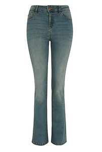 George Womens Denim Slim Bootcut Jeans