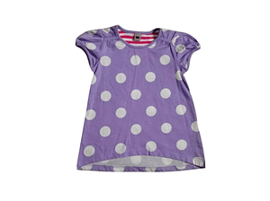 Tu Baby Girls Purple Polka Dot Top