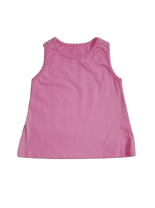 Tu Baby Girls Pink Sleeveless Top