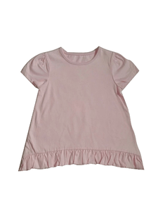 Baby Girls Frill Pink Top