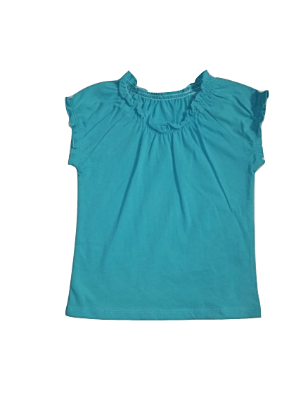 Baby Girls Turquoise Blue Sleeveless Top