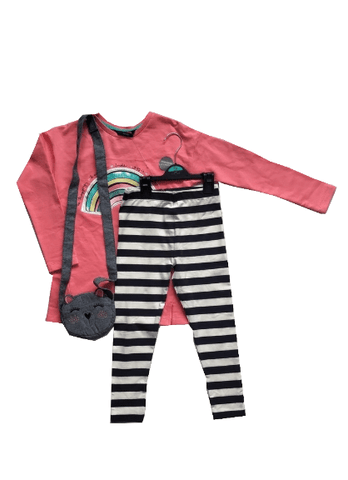 George Girls 3 Piece Sweatshirt, Leggings & Cat Bag Set