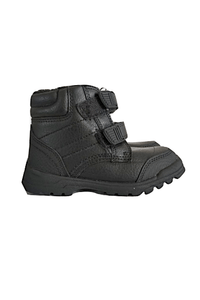 George Boys Double Strap Black Chukka Boots