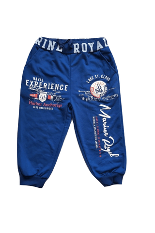 Van Shibuya Boys 3/4 Knee Casual Blue Joggers