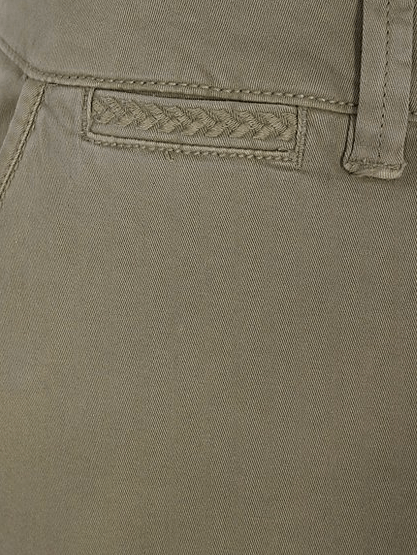 George Womens Khaki Chino Trousers