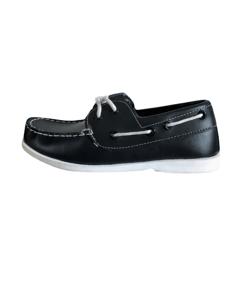 Aldi Lily & Dan Boys Action Leather Blue Boat Shoes
